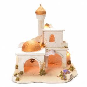 Presepe Napoletano: Borgo arabo presepe 40X40X37