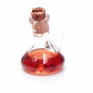 Accesorios para la casa: Botella cristal vinagre miniatura 2.5 cm pesebre