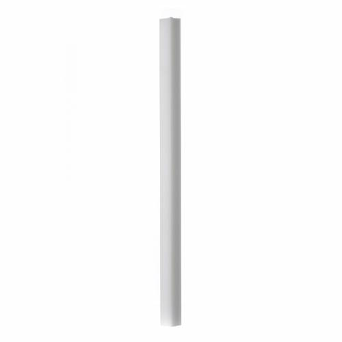Bougie blanche carrée 600x30x30mm (lot) s1
