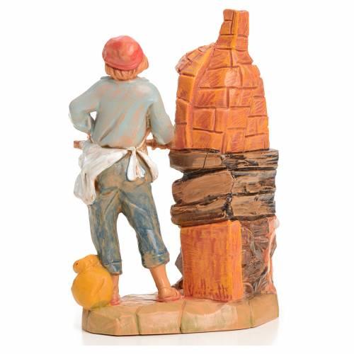 Boulanger crèche 9,5 cm Fontanini s2