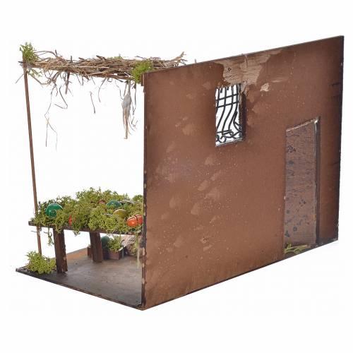Boutique fruits et légumes en miniature cm 33x18x25 s4