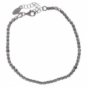 Bracciale AMEN in argento 925 rodiato nero s2