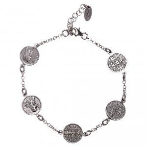Bracelet AMEN Medjugorje Sacré-Coeur St Benoît Ste Rita Miraculeuse s2