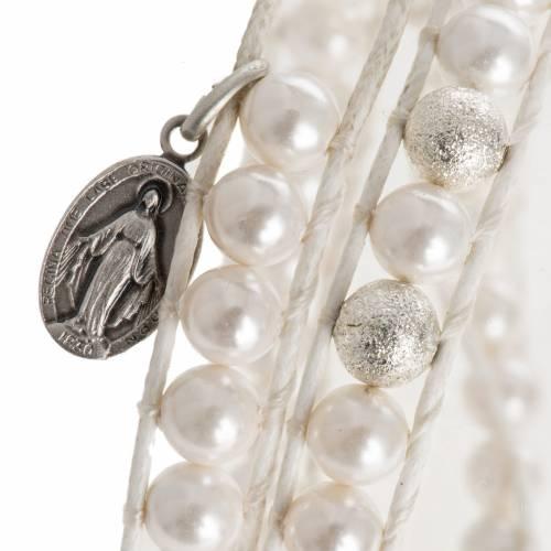 Bracelet chapelet en nacre 6mm s2