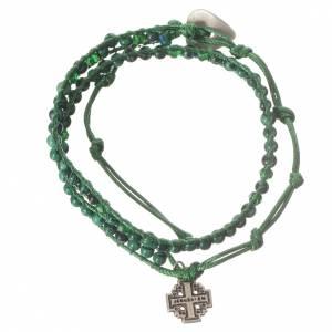 Bracelet chapelet malachite 4mm s1