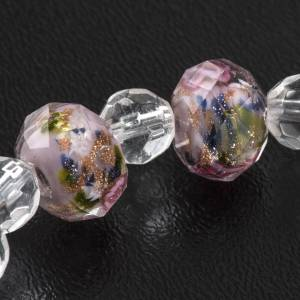 Bracelets divers: Bracelet élastique cristal 7mm rose
