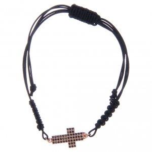 Silver bracelets: Bracelet in 925 sterling silver with black zircons