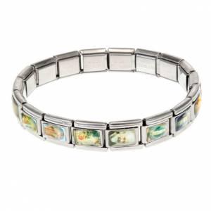 Bracelet INOX élastique, multi images s1