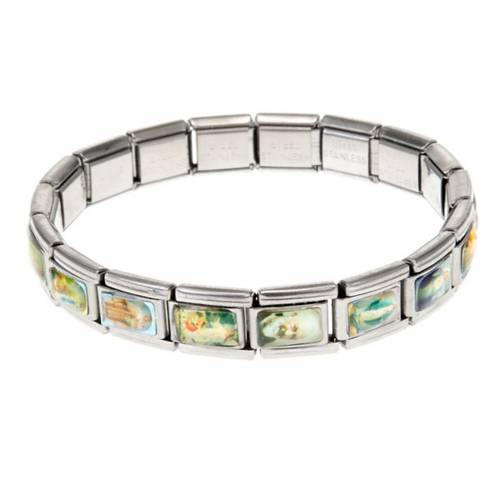 Bracelet INOX élastique, multi images 1