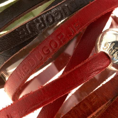 Bracelet Medjugorje sphère long. 52 cm s10