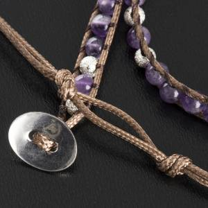 Bracelet religieux améthyste 4mm s5