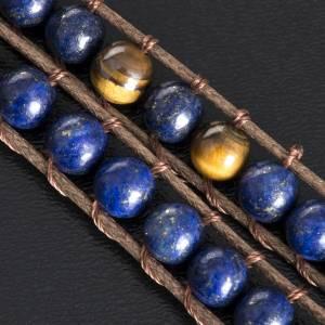 Bracelet religieux lapis-lazuli 6mm s5