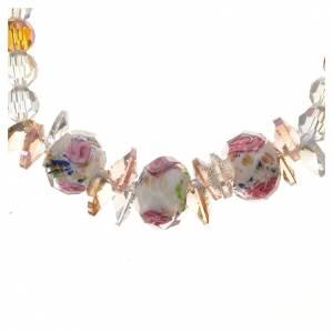 Bracelet Trinité élastique Cristal blanc s2