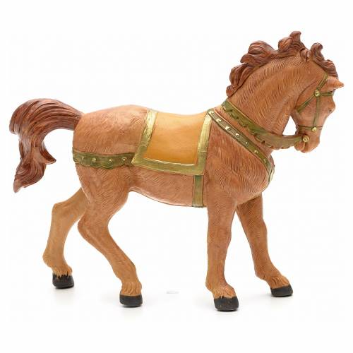 Brown horse 12cm by Fontanini s4