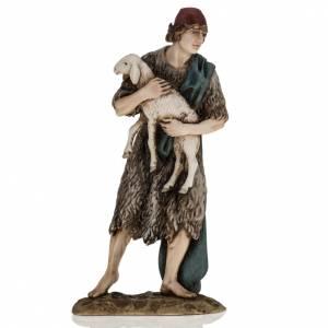 Statue per presepi: Buon Pastore 18 cm presepe Landi
