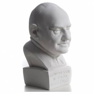 Buste Pape Jean XXIII 22 cm marbre s2
