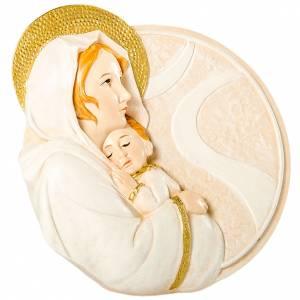 Bonbonnières: Cadre Rond Maternité 10 cm
