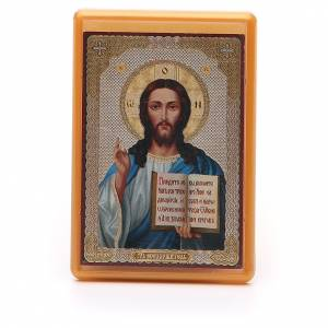 Magneti dei Santi, Madonna, Papa: Calamita Russia plexiglass Pantocratore 10x7