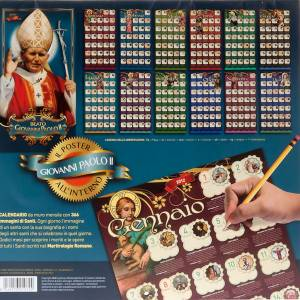 Un Anno di Santi Calendario 2012 s7