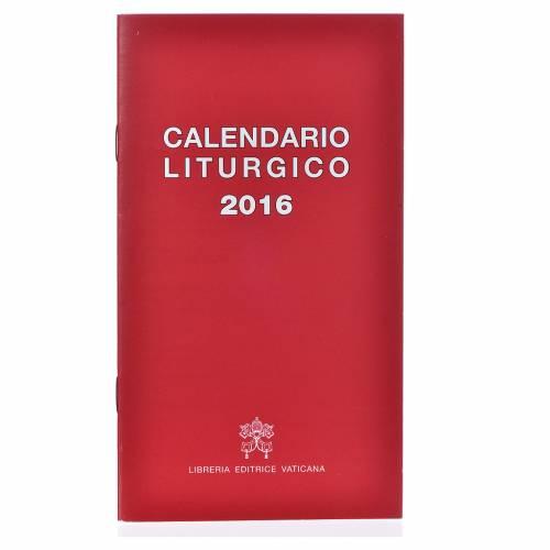 Calendario liturgico 2016 ed. Vaticana s1