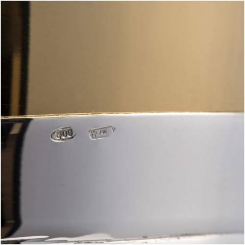 Calice e pisside argento 800 mod. Cigno s10