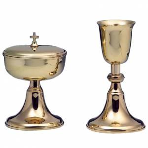 Calice e pisside argento 800 mod. Corona Australe s1