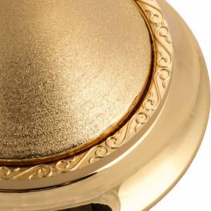 Calice ottone dorato zigrinato s4
