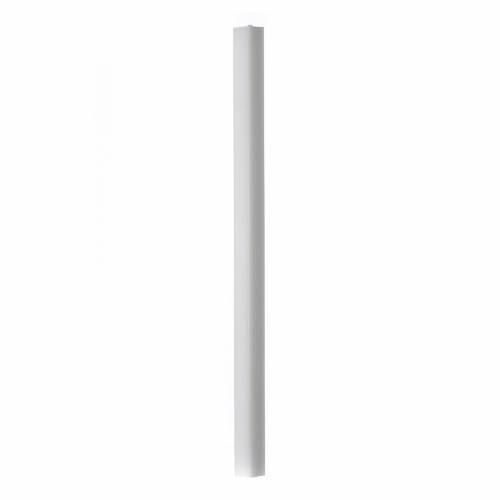 Candela bianca quadra 600x30x30 mm (confezione) s1