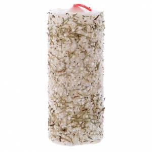 Candele, ceri, ceretti: Candela con sale e rosmarino