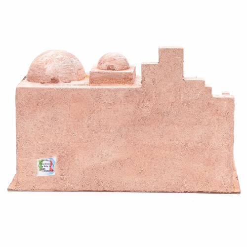 Capanna di stile arabo con laghetto 20x35x20 cm s4