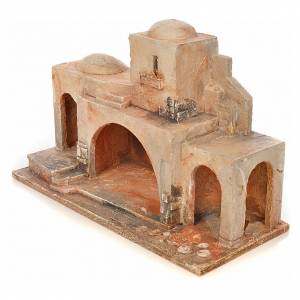 Capanne Presepe e Grotte: Capanna per presepe Fontanini 6,5 cm