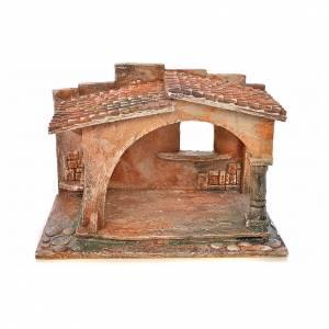 Capanne Presepe e Grotte: Capanna stile arabo presepe Fontanini cm 12