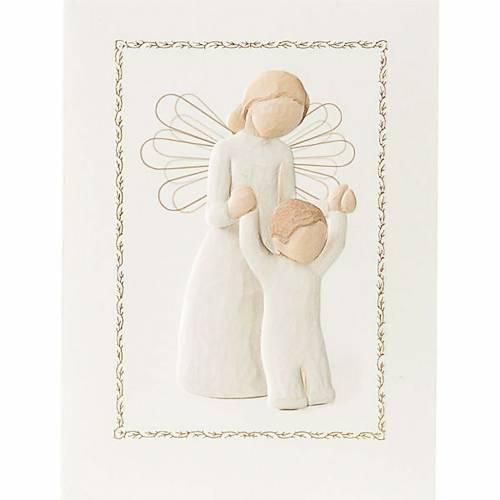 Willow Tree Card - Guardian Angel (Angelo Custode) 14x10,5 s1