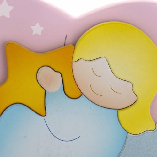 Carillon cuore angelo stella rosa Azur Loppiano s2