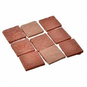 Carrelages carrés résine 15x15 mm 50 pcs s2