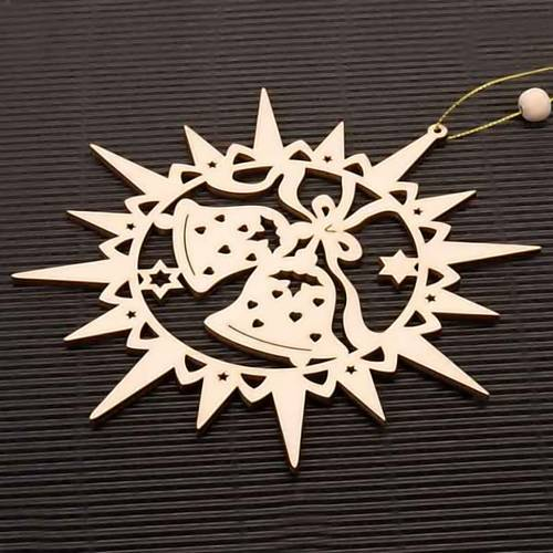 Carved star with bells s2
