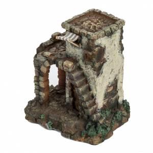 Casetta con scala per villaggio Fontanini cm 6.5 s2