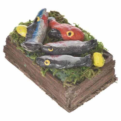 Cassetta del pesce in cera per figure 20-24 cm s4