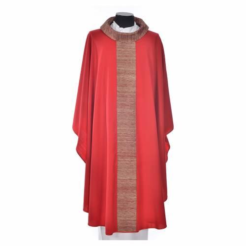 Casula 100% pura lana con riporto 100% pura seta s5