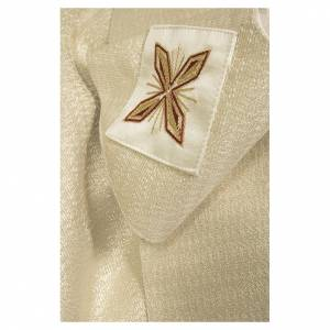 Casule: Casula 90% lana 10% lurex con croce e decori