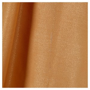 STOCK Casula dorata tessuto oro faille di mezza lana PICCOLO DIFETTO s5