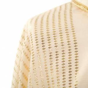 Casula mariana lana e decorazioni metalliche s5