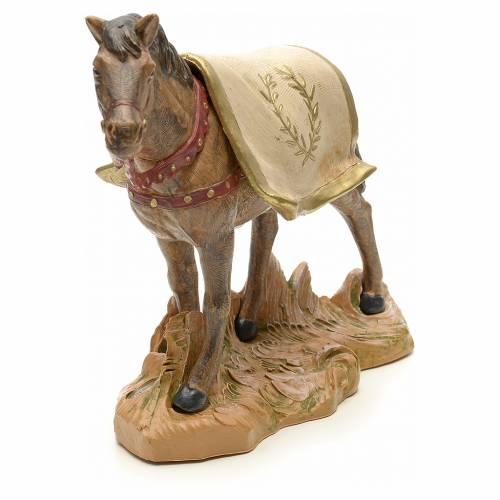 Cavallo nero 19 cm Fontanini s4