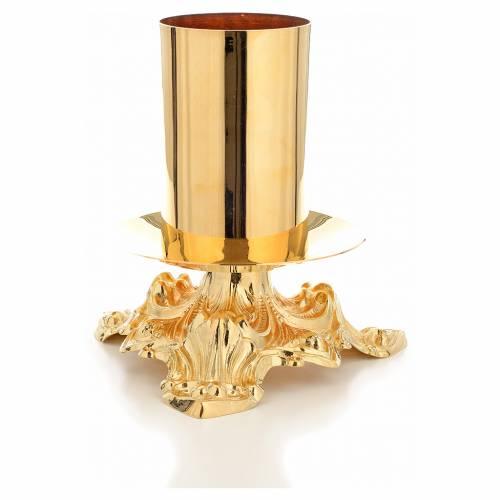 Chandelier d'autel bague 8 cm s4