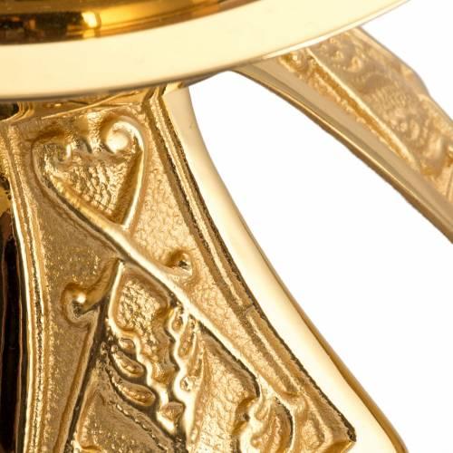 Chandelier en bronze doré simple s2
