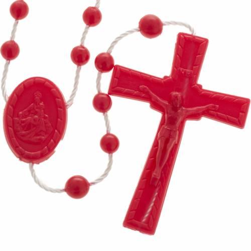Chapelet nylon rouge s1