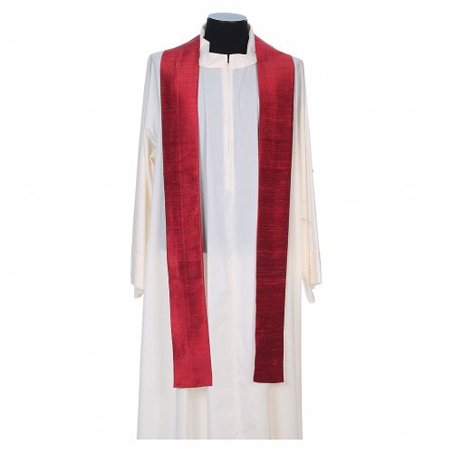 Chasuble in pure Shantung silk s8