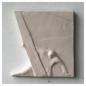 Chemin croix carreaux irréguliers 20x294 cm argile Ave s12