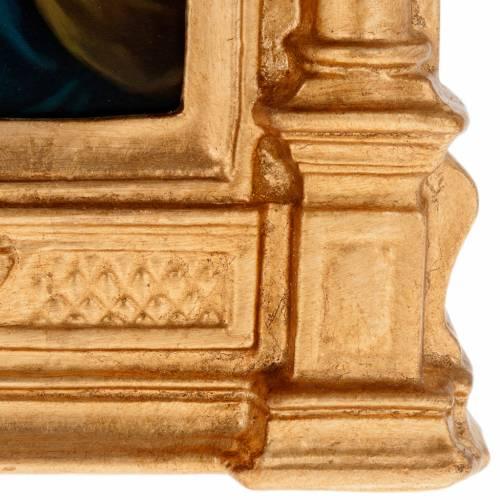 Chemin de Croix type petit autel bois XV stations s3