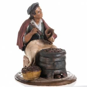 Chestnut seller, 18cm terracotta s1